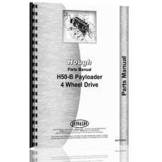 Hough H-50B Pay Loader Parts Manual (Chassis)