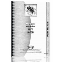 Hough H-70 Pay Loader Parts Manual (SN# 21AB and 21AC) (21AB)