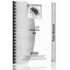 Hough HA Pay Loader Parts Manual (SN# 21803-23500)