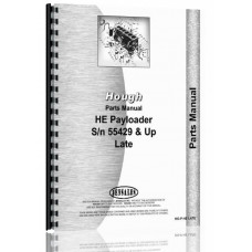 Hough HE Pay Loader Parts Manual