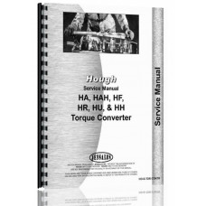 Hough HA Pay Loader Torque Converter Service Manual