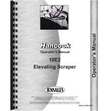 Hancock 10E2 Scraper Operators Manual