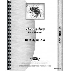 Hercules Engines DRXB Engine Parts Manual