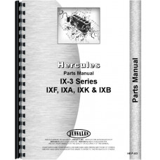 Hercules Engines IX-3 Engine Parts Manual