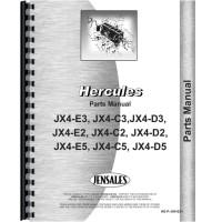 Hercules Engines JX4-E5 Engine Parts Manual