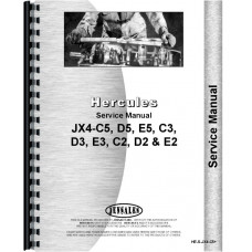 Hercules Engines JX4-D2 Engine Service Manual