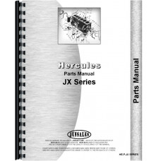 Hercules Engines Engine Parts Manual (HE-P-JX SERIES)