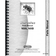 Hercules Engines Engine Parts Manual (NXA Engine | NXB Engine)