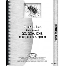 Hercules Engines Engine Parts Manual (HE-P-QXA+)