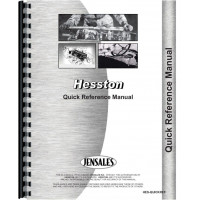 Hesston 980 Quick Reference Service Manual