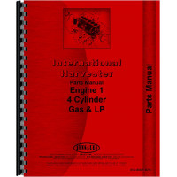 International Harvester 574 Tractor Engine Parts Manual (Gas)