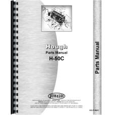Hough H-50C Pay Loader Parts Manual