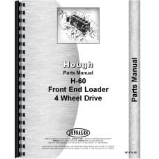 Hough H-60 Pay Loader Parts Manual