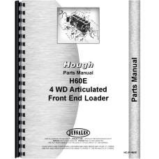 Hough H-60E Pay Loader Parts Manual