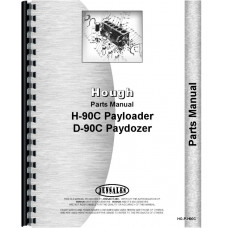 Hough D-90C Payloader Parts Manual
