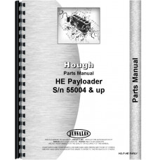 Hough HE Pay Loader Parts Manual (SN# 55004-55428)