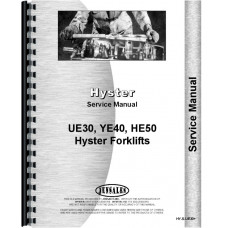Hyster YE40 Forklift Service Manual