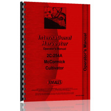 International Harvester 200 Cultivator Operators Manual