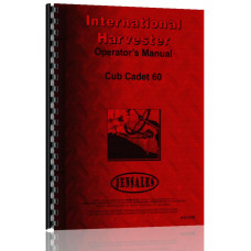 International Harvester Cub Cadet 60 Lawn & Garden Tractor Operators Manual