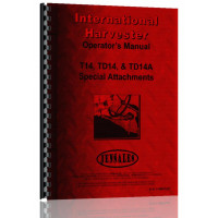 International Harvester TD14A Crawler Special Attachments Operators Manual