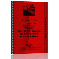 International Harvester 140 Wagner Loaders Operators Manual