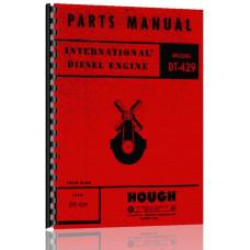 International Harvester DT429 Engine Parts Manual