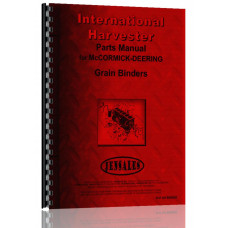 International Harvester E Grain Binder Parts Manual
