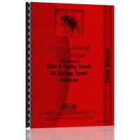 International Harvester Tandem Disk Parts Manual