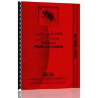 International Harvester Pippen Backhoes Parts Manual