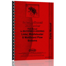 International Harvester Plow Bottoms Parts Manual