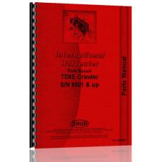 International Harvester TD8E Crawler Parts Manual (IH-P-TD8E&UP)