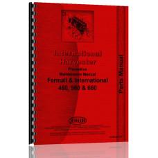 International Harvester 660 Tractor Preventative Maintenance Preventative Maintenance Manual