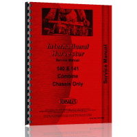 International Harvester 140 Combine Service Manual (Chassis)