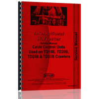 International Harvester Cable Control Units Service Manual