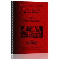 International Harvester Cream Separator Service Manual