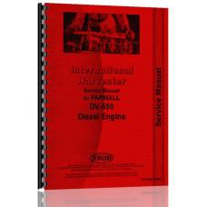 International Harvester 1568 Tractor Engine Service Manual