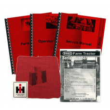 International Harvester 504U Utility Deluxe Tractor Manual Kit