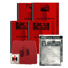 International Harvester W6 Deluxe Tractor Manual Kit