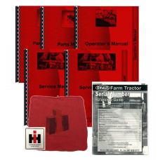 International Harvester 2756 Gas Deluxe Tractor Manual Kit