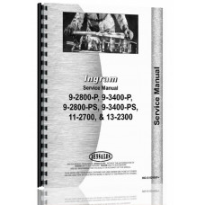 Ingram 9-2800-P, 9-2800-PS, 9-3400-P, 9-3400-PS, 11-2700, 13-2300 Road Roller Service Manual (Roller)