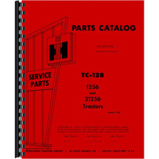 Farmall 1256 Tractor Parts Manual (Diesel Only)