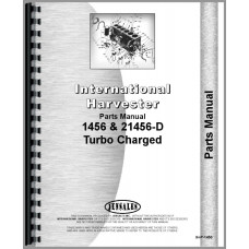 International Harvester 21456 Tractor Parts Manual