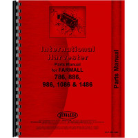 International Harvester 1086 Tractor Parts Manual (Chassis)
