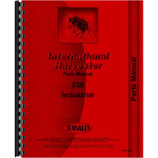 International Harvester 238 Indusrial Tractor Parts Manual