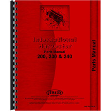 International Harvester 240 Tractor Parts Manual