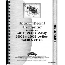 International Harvester 2412B Industrial Tractor Parts Manual (Chassis)