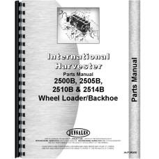 International Harvester 2505B Industrial Tractor Parts Manual