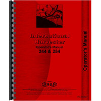 International Harvester 254 Tractor Operators Manual