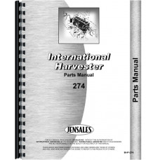 International Harvester 274 Tractor Parts Manual