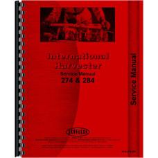 International Harvester 274 Tractor Service Manual